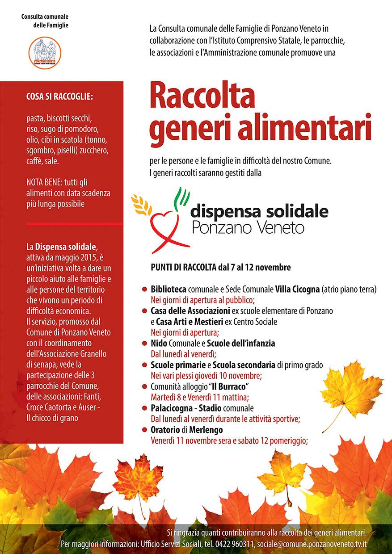 Comune Di Ponzano Veneto festa della solidarietà 2016 – collaborazione pastorale