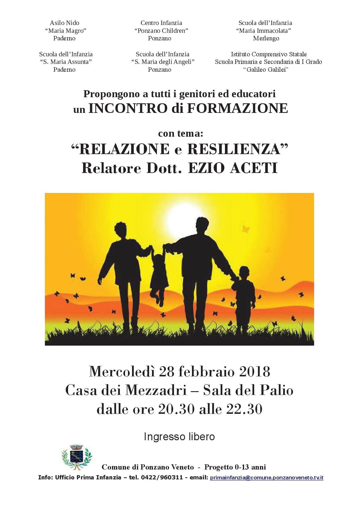 Comune Di Ponzano Veneto relazione e resilienza – collaborazione pastorale ponzano veneto